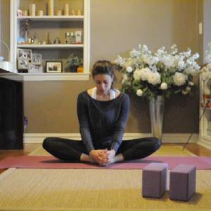 Baddha Konasana (I'm more meditative here)