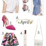 April Spring Picks