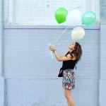 Floral Skirt & Street Art