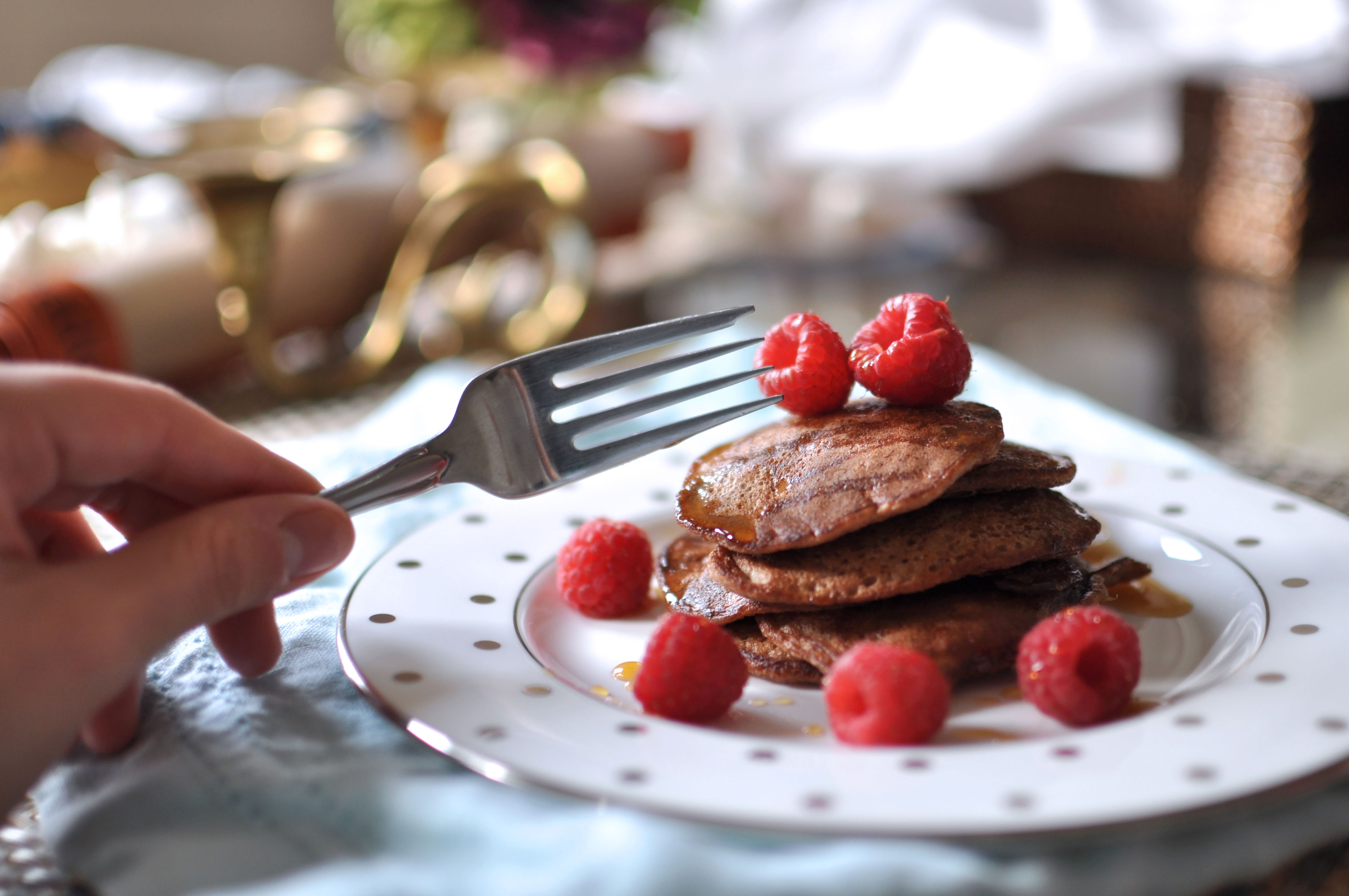 Chocolate Banana 'Pancakes'