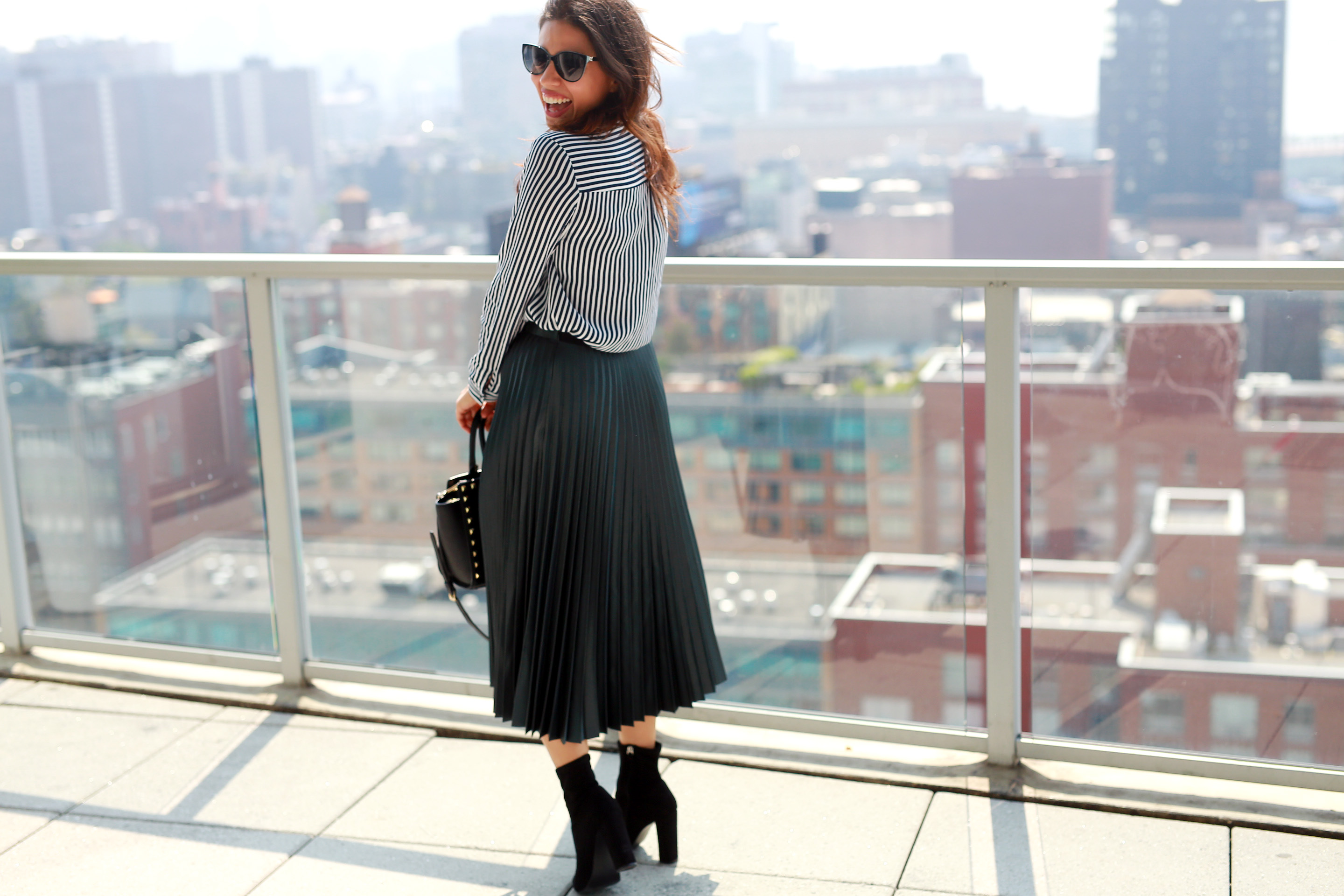 New York Fashion Week with shopstyle social house