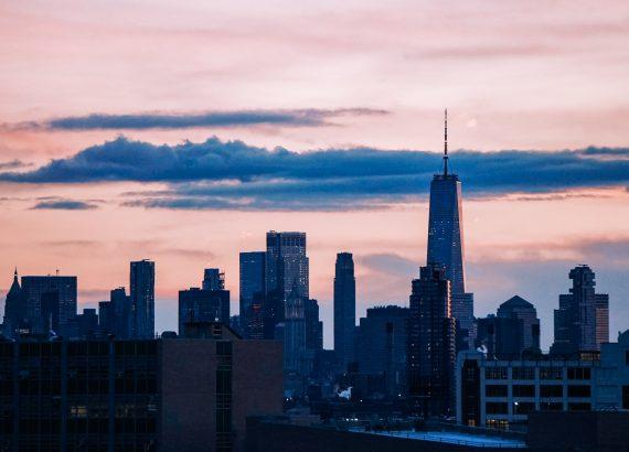 freedom tower, nyc, beautiful skyline