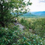 hiking at harriman state park